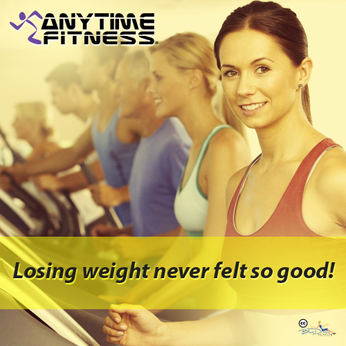 Anytime Fitness in Knoxville helps you lose weight and keep it off.