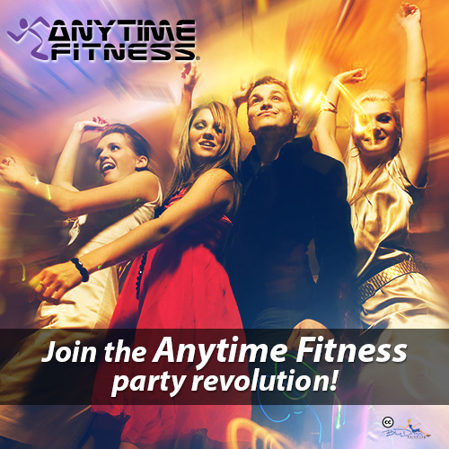 Anytime Fitness Farragut personal trainer lose weight knoxville - party revolution